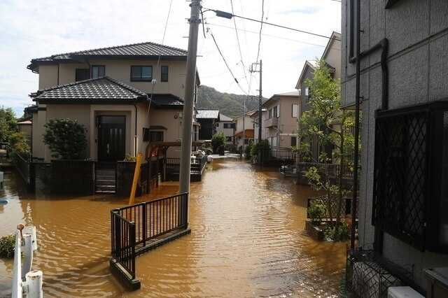 洪水や床上浸水などの災害時に、家の中での逃げ場がない