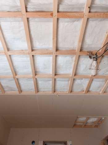天井の断熱リフォーム