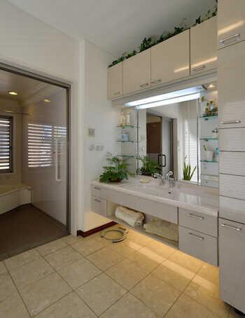リフォームする前に見ておきたい、使い勝手のいい洗面所をつくるコツ!