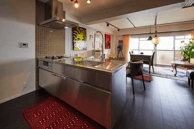 キッチン床の張り替えリフォーム費用!おしゃれで掃除しやすい床材は?