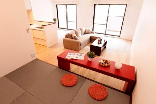 琉球畳なら和室もおしゃれにできる!裸足で過ごす贅沢♡