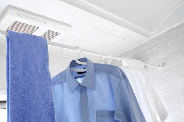 「雨の日の洗濯物どうしてる?」お手軽リフォームで解決する方法♪