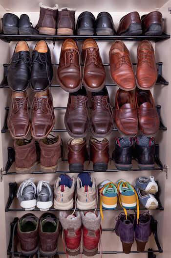 もう悩まない!靴の収納術【見せる収納派?隠す収納派?】