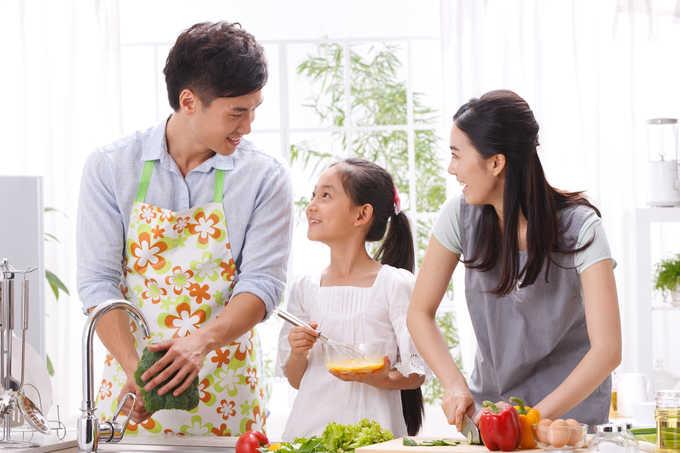 家族みんなで料理がしやすいキッチンづくりのポイント