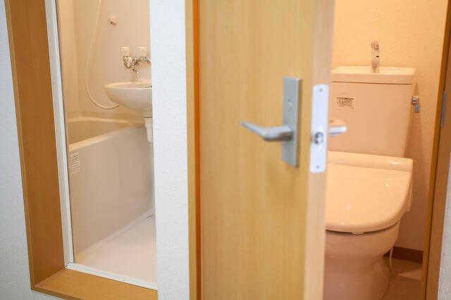 ① バス・トイレ・洗面台を別々の場所に設置する