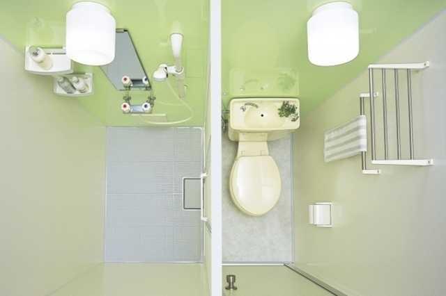 ④ トイレとシャワールーム(ブース)に変更する