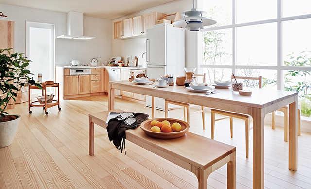 無垢材キッチンのウッドワン!スイージーなど価格や魅力を紹介!