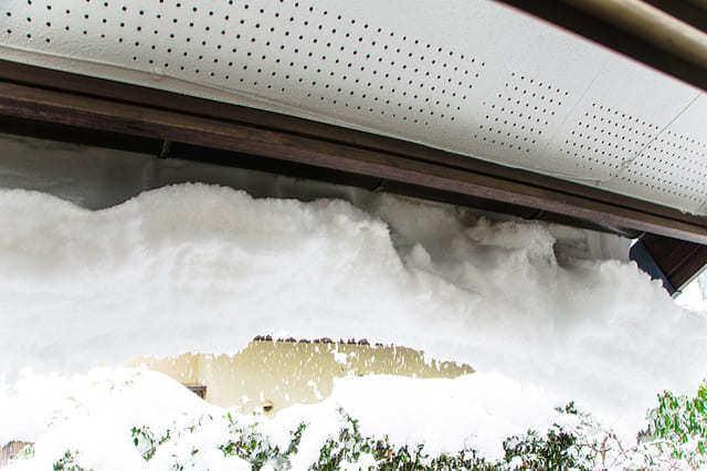 雨樋や付帯物の破損を防ぐ