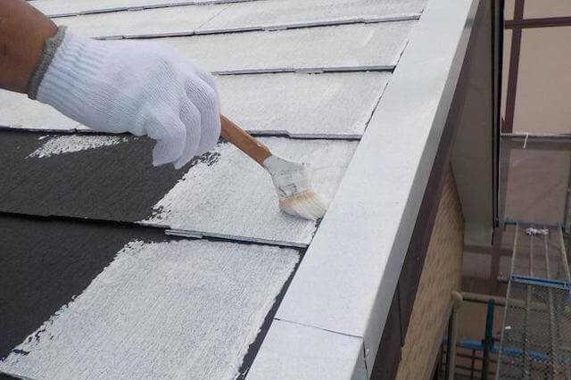 コロニアル(カラーベスト)屋根を塗装/修理する価格・単価