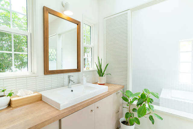 洗面所の新設:20〜60.5万円