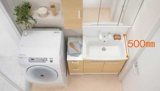 リクシルの洗面台「オフト」