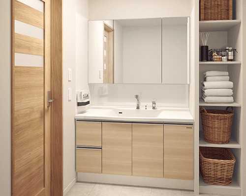 タカラスタンダードの洗面台の特徴