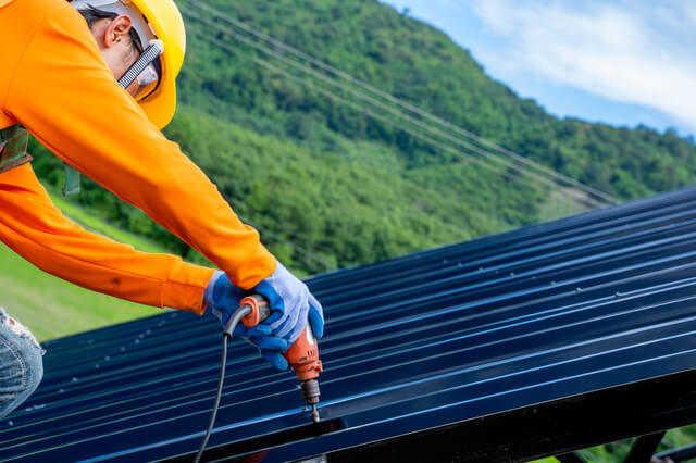 折板(折半)屋根の施工方法・取り付け方の種類