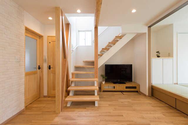 ③階段の架け替え・位置変更も有効