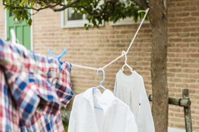 洗濯物を干す場所が少ない