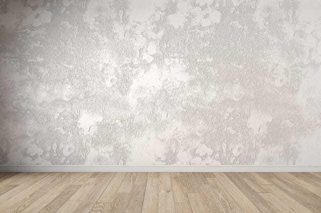 部屋の壁を漆喰にリフォームする
